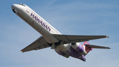 N484HA - Boeing 717-22A - Hawaiian Airlines