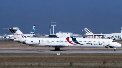 F-GHEI - McDonnell Douglas MD-83 - Air Liberté
