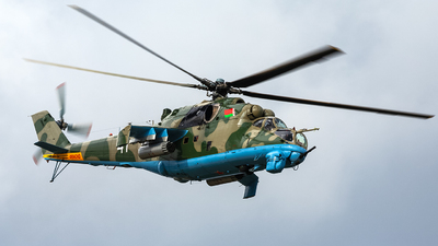 41 - Mil Mi-24 Hind - Belarus - Air Force