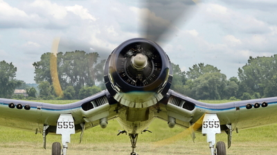 NX83JC - Goodyear FG-1D Corsair - Private