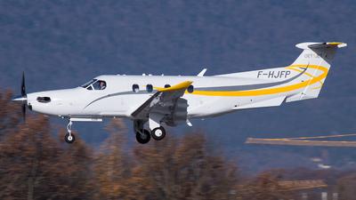 F-HJFP - Pilatus PC-12/47E - Private