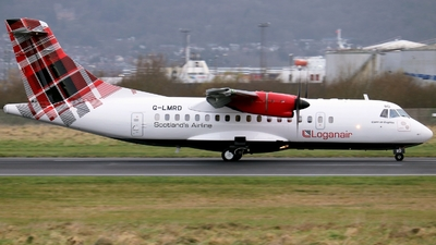 G-LMRD - ATR 42-500 - Loganair