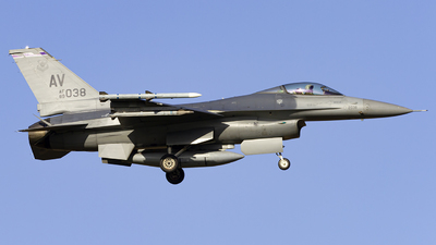 89-2038 - General Dynamics F-16CG Fighting Falcon - United States - US Air Force (USAF)