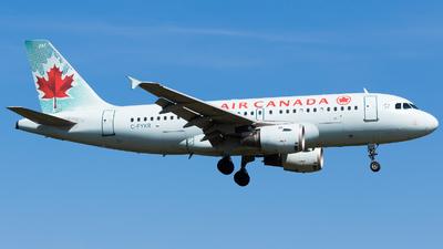 C-FYKR - Airbus A319-114 - Air Canada