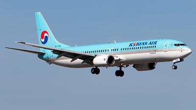 A picture of HL7726 - Boeing 7379B5 - Korean Air - © Yukio023