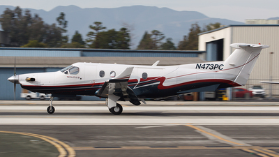 N473PC - Pilatus PC-12/45 - Private