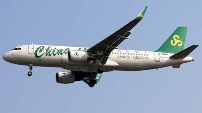 B-1840 - Airbus A320-214 - Spring Airlines