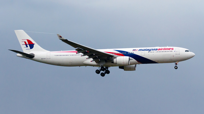 9M-MTF - Airbus A330-323 - Malaysia Airlines