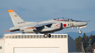 16-5670 - Kawasaki T-4 - Japan - Air Self Defence Force (JASDF)