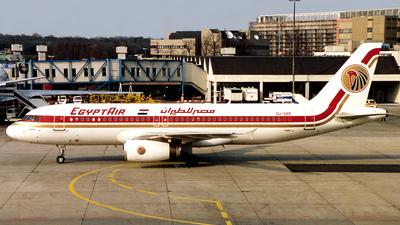 SU-GBB - Airbus A320-231 - EgyptAir