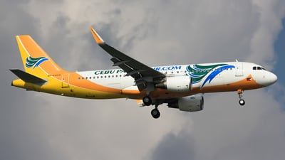 RP-C4104 - Airbus A320-214 - Cebu Pacific Air