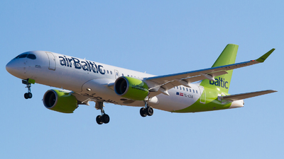 YL-CSB - Bombardier CSeries CS300 - Air Baltic