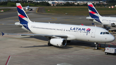 A picture of PRMBA - Airbus A320232 - LATAM Airlines - © Ricardo Fontes Moro