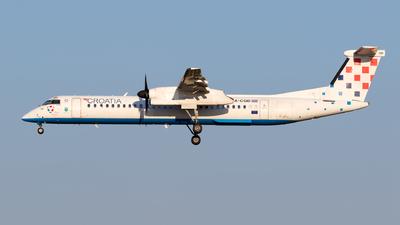 A picture of 9ACQD - De Havilland Canada Dash 8400 - Croatia Airlines - © Matteo Lamberts