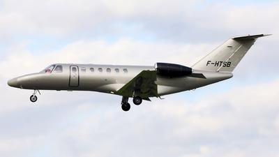 F-HTSB - Cessna 525 Citationjet CJ3 - Private