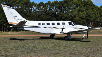 A picture of VHLWY - Cessna 441 Coquest 2 - [4410262] - © Jarrod Swanwick