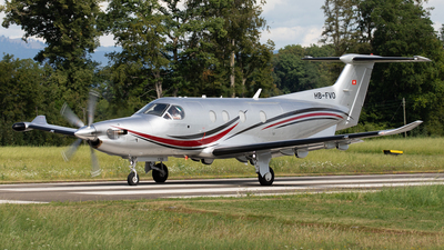 HB-FVO - Pilatus PC-12/47E - Private