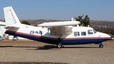 ZS-NJS - Piaggio P.166S Albatross - Kingdom Air