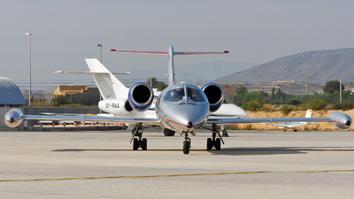 LX-ONE - Bombardier Learjet 45 - Ducair - Luxembourg Air Ambulance