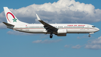A picture of CNRNU - Boeing 7378B6 - Royal Air Maroc - © Aldo Bidini