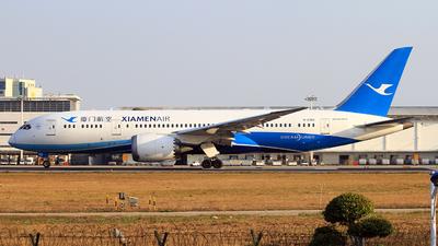 A picture of B2763 - Boeing 7878 Dreamliner - Xiamen Air - © Egg_Shadowsine Aviation