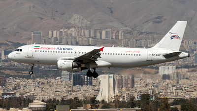 EP-ZAP - Airbus A320-211 - Zagros Airlines