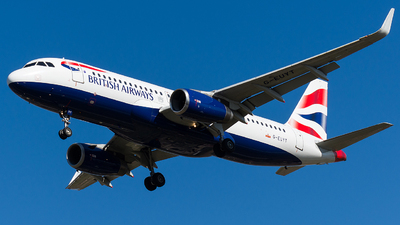 G-EUYT - Airbus A320-232 - British Airways