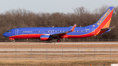 N8638A - Boeing 737-8H4 - Southwest Airlines