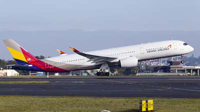 A picture of HL7771 - Airbus A350941 - Asiana Airlines - © MQ1131