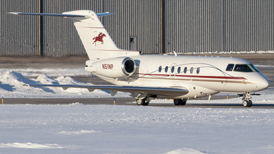 N51NP - Hawker Beechcraft 4000 - Private