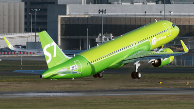 F-WWIO - Airbus A320-271N - S7 Airlines