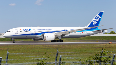 A picture of JA816A - Boeing 7878 Dreamliner - All Nippon Airways - © LUSU