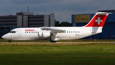 HB-IXS - British Aerospace Avro RJ100 - Swiss