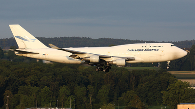 A picture of OOACE - Boeing 747412(BCF) - Challenge Airlines - © Tomasz Habaj