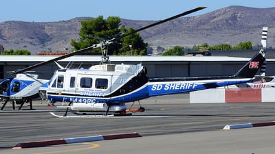 N449RC - Bell 205A-1 - United States - San Diego County Sheriff
