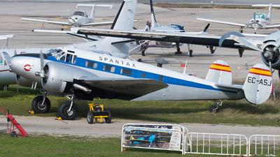 EC-ASJ - Beechcraft 18 - Fundación Infante de Orleans