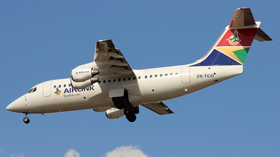 ZS-TCO - British Aerospace Avro RJ85 - South African Airlink