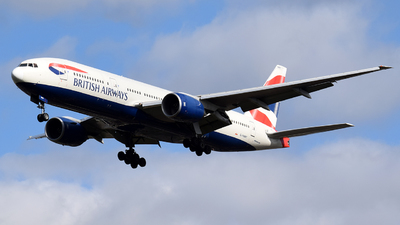 G-YMMT - Boeing 777-236(ER) - British Airways