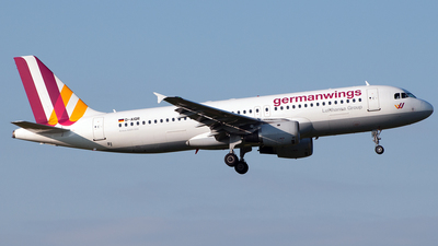 D-AIQR - Airbus A320-211 - German Wings