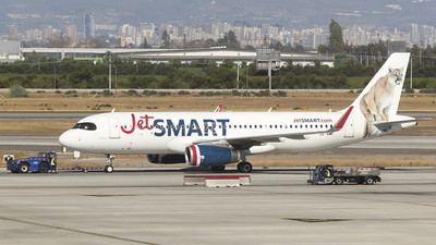 CC-AWF - Airbus A320-232 - JetSmart