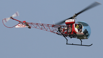 N474JP - Bell 47G-4 - Private
