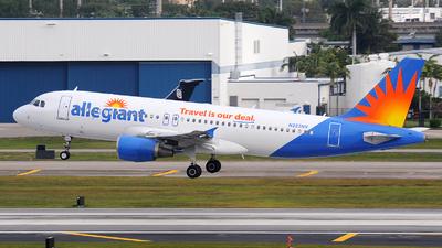 A picture of N223NV - Airbus A320214 - Allegiant Air - © Alexander Portas