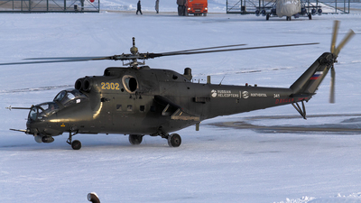2302 - Mil Mi-35M Hind - Russia - Air Force