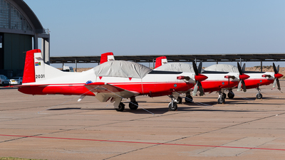 2031 - Pilatus PC-7 Mk.II - South Africa - Air Force