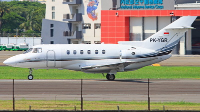 PK-YGR - Hawker Beechcraft 800XP - Private