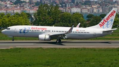 EC-LVR - Boeing 737-85P - Air Europa