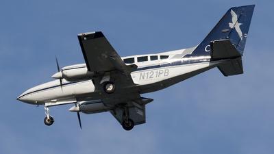 A picture of N121PB - Cessna 402C - Cape Air - © Jeremy D. Dando