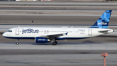 N624JB - Airbus A320-232 - jetBlue Airways