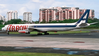N345JW - Douglas DC-8-63(F) - Arrow Air