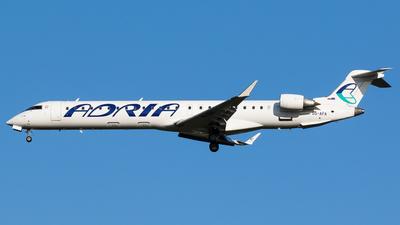 A picture of S5AFA - Bombardier CRJ900LR - Adria Airways - © Teemu Pesonen